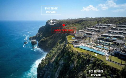 Developer Dream Plot - Freehold Cliff Front Land Bukit - Bali Luxury Estate