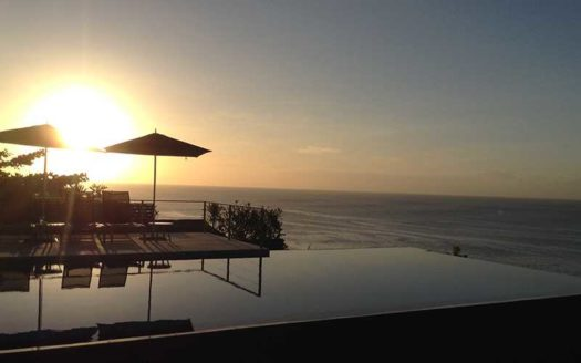 Sunset Villa in Dreamland - Cliff Front Freehold Property - Bali Luxury Estate